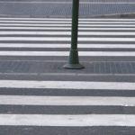 Indemnización por lesiones a persona atropellada en paso de peatones