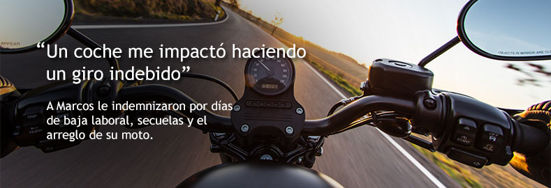 indemnizaciones por accidente de moto