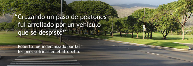 indemnizaciones por atropello a peaton