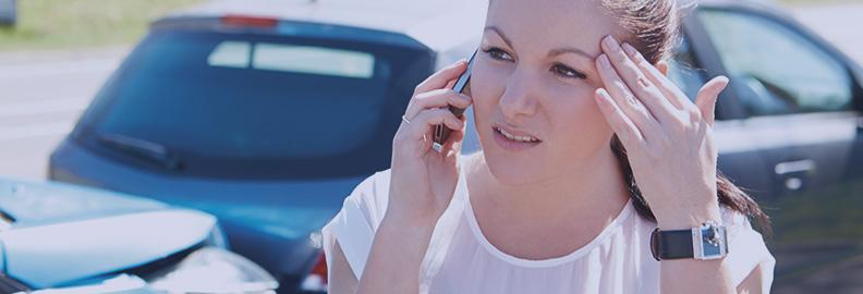 Consejos en acaso de accidente de tráfico
