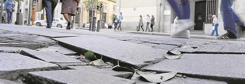 reclamar indemnización caída en la calle